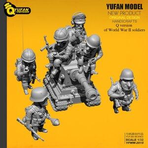 Image 4 - Yufan Modell 1/32 Soldat Q version der soldat 6 plus tank set Yfww 2015