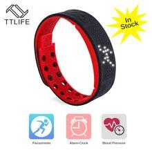 TTLIFE TW2 Смарт-часы свет фитнес-трекер Браслет Шагомер монитор без bloodpressure сердцем смарт-браслет для Android