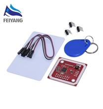 10 مجموعات PN532 NFC تتفاعل وحدة لاسلكية V3 قارئ المستخدم وضع الكاتب IC S50 بطاقة PCB هيتنا I2C IIC SPI HSU