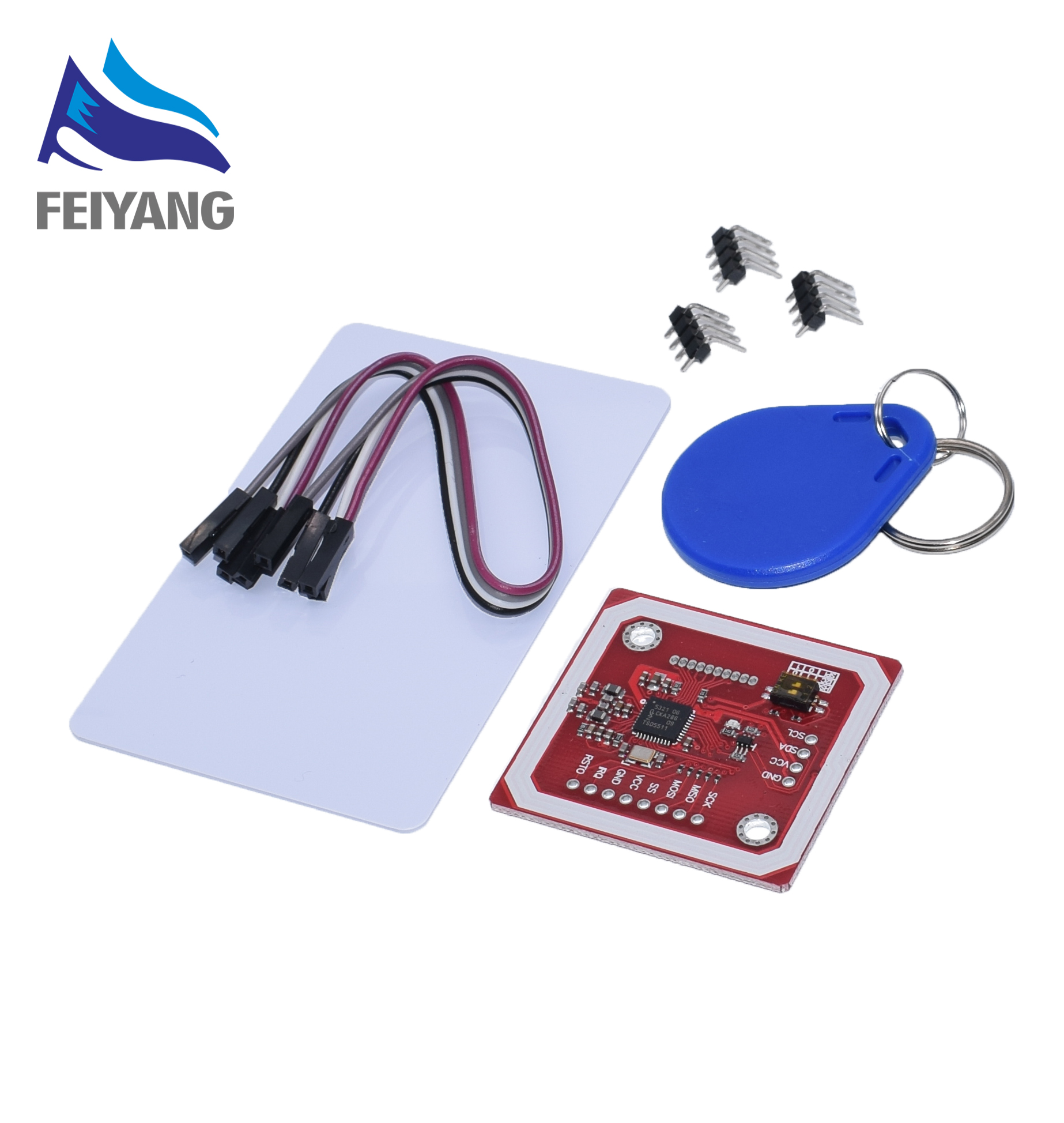 10Set PN532 NFC RFID Wireless Module V3 User Kits Reader Writer Mode IC S50 Card PCB Attenna I2C IIC SPI HSU10Set PN532 NFC RFID Wireless Module V3 User Kits Reader Writer Mode IC S50 Card PCB Attenna I2C IIC SPI HSU