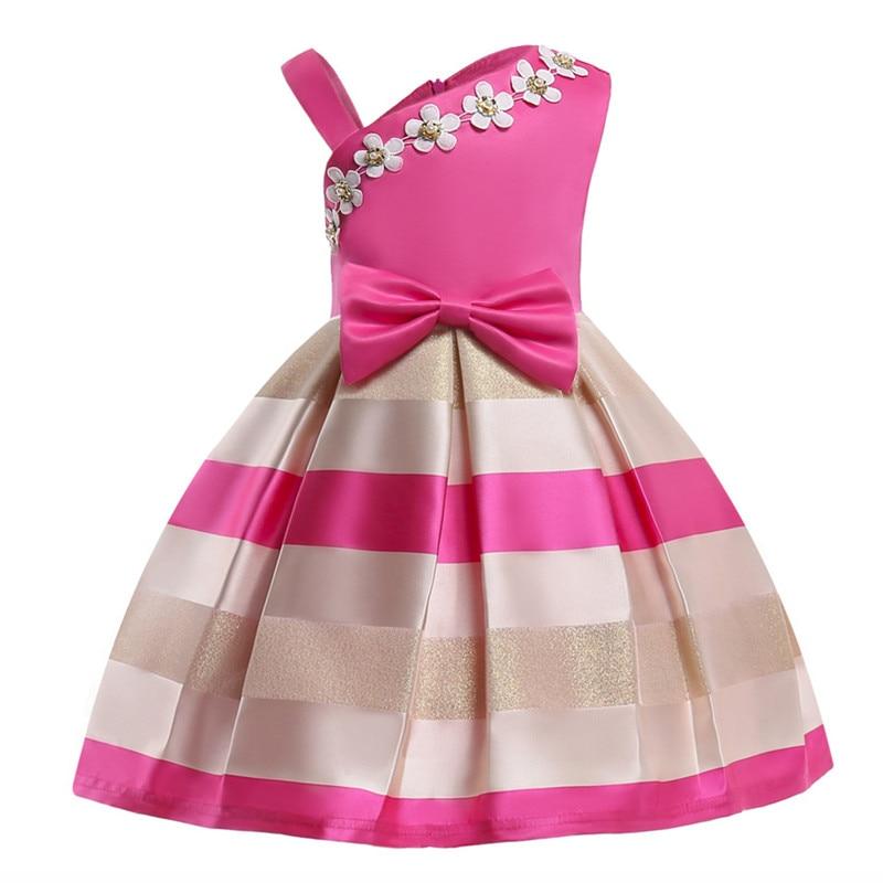Baby Girl Princess Dress Kids Lace Autumn Winter Flower Wedding Party Dresses for Toddler Girl Children