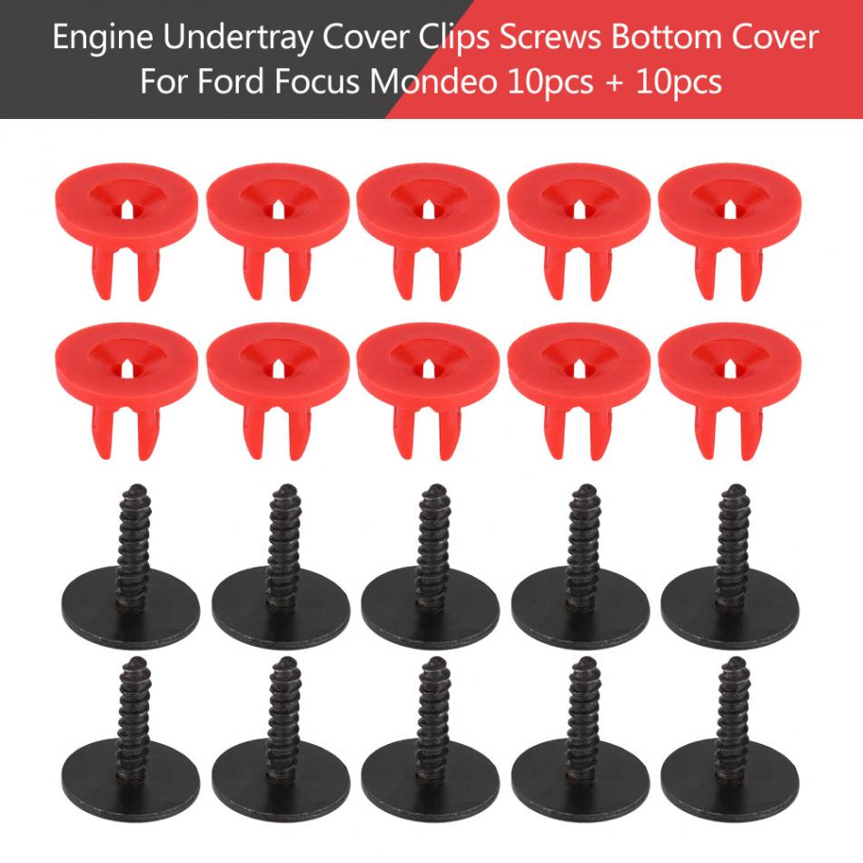 CHRYSLER ENGINE UNDERTRAY CLIPS SPLASHGUARD SHIELD BOTTOM COVER FASTENER