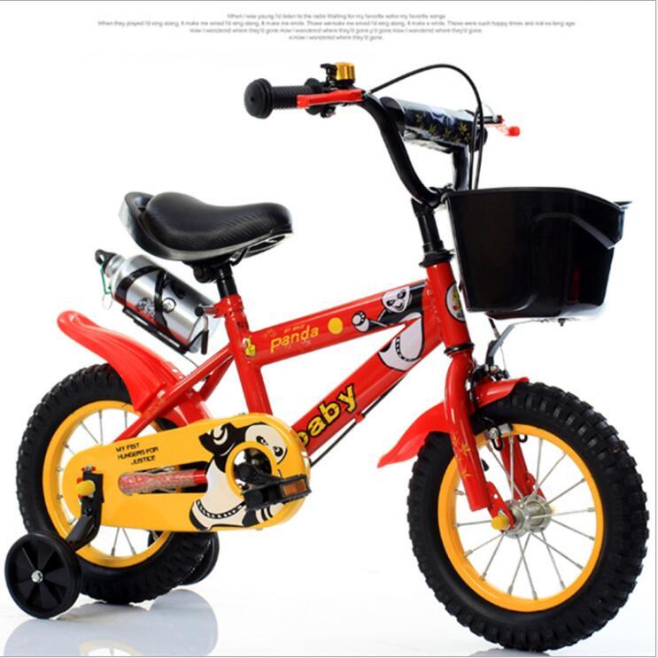 Детский велосипед 12 дюймов 14 дюймов 16 дюймов велосипед детская коляска велосипед для детей четыре колеса велосипед 3 8 лет - 5