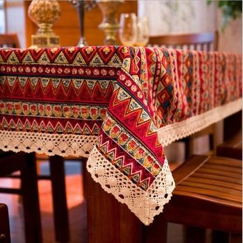"""bohemian dining table"" Υφαντό τραπεζομάντηλο σε 4 χρώματα"