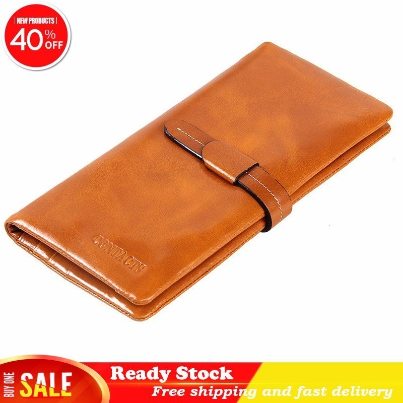 Luxury brand high quality Maam Wallet Genuine Leather Long A Oil Wax Leisure Time Will Capacity Hand Take women Package bestLuxury brand high quality Maam Wallet Genuine Leather Long A Oil Wax Leisure Time Will Capacity Hand Take women Package best