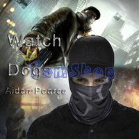 Watch Dogs Aiden Pearce Cosplay Gesicht Rohr Maske + Cap SET Hut Video Spiel WATCHDOGS Kostüm Caps Kostenloser Versand