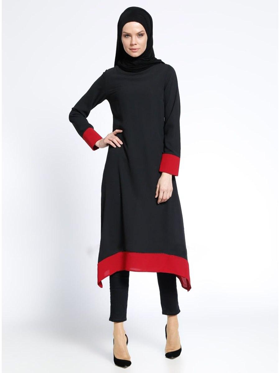 Robe musulmane en mousseline de soie pou ...
