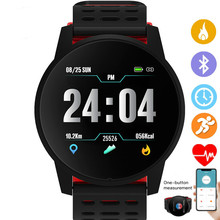 цена на Top Sports Smart Watch Men Women Heart Rate Monitor Blood Pressure Fitness Tracker Smartwatch GPS Sport Watch for Android Ios