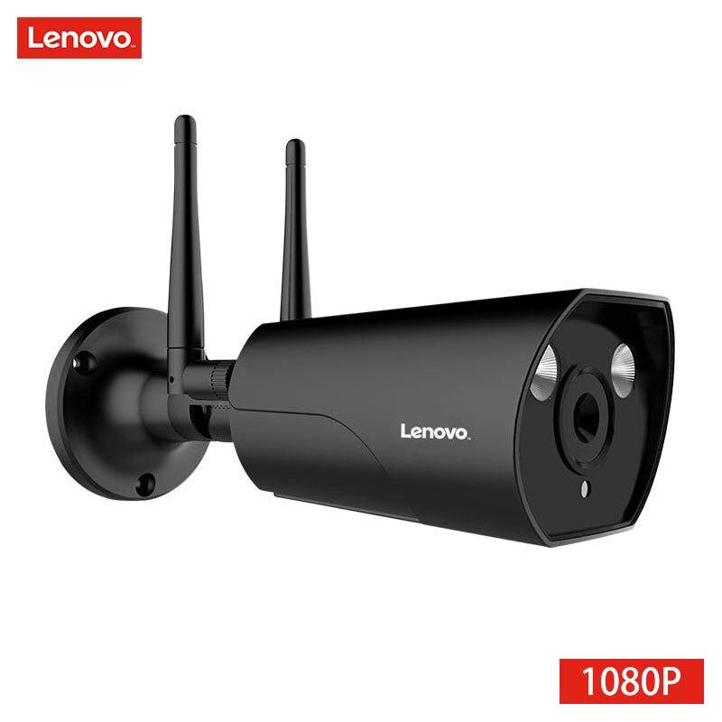 LENOVO double antenne caméra IP ONVIF 1080 P caméra de vidéosurveillance étanche extérieure HD Vision nocturne Wifi caméra de Surveillance sans fil - 6