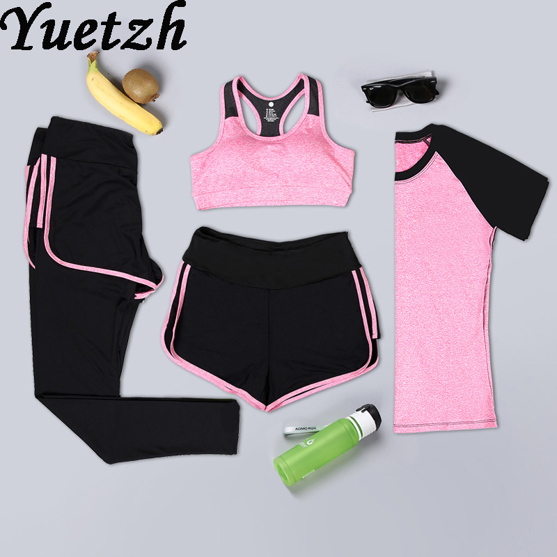 Nouveau yoga costume femmes gym vêtements de fitness russe survêtement extérieur sport course costume de sport escalade randonnée vêtements porter