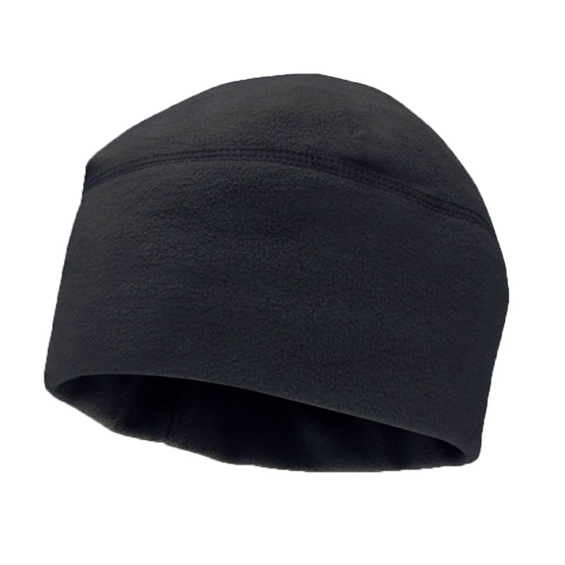 Unisex Winter Solid Color Soft Warm Watch Cap Polar Fleece Thickened Military Army   Beanie   Hat Windproof Outdoor Tough Headwear