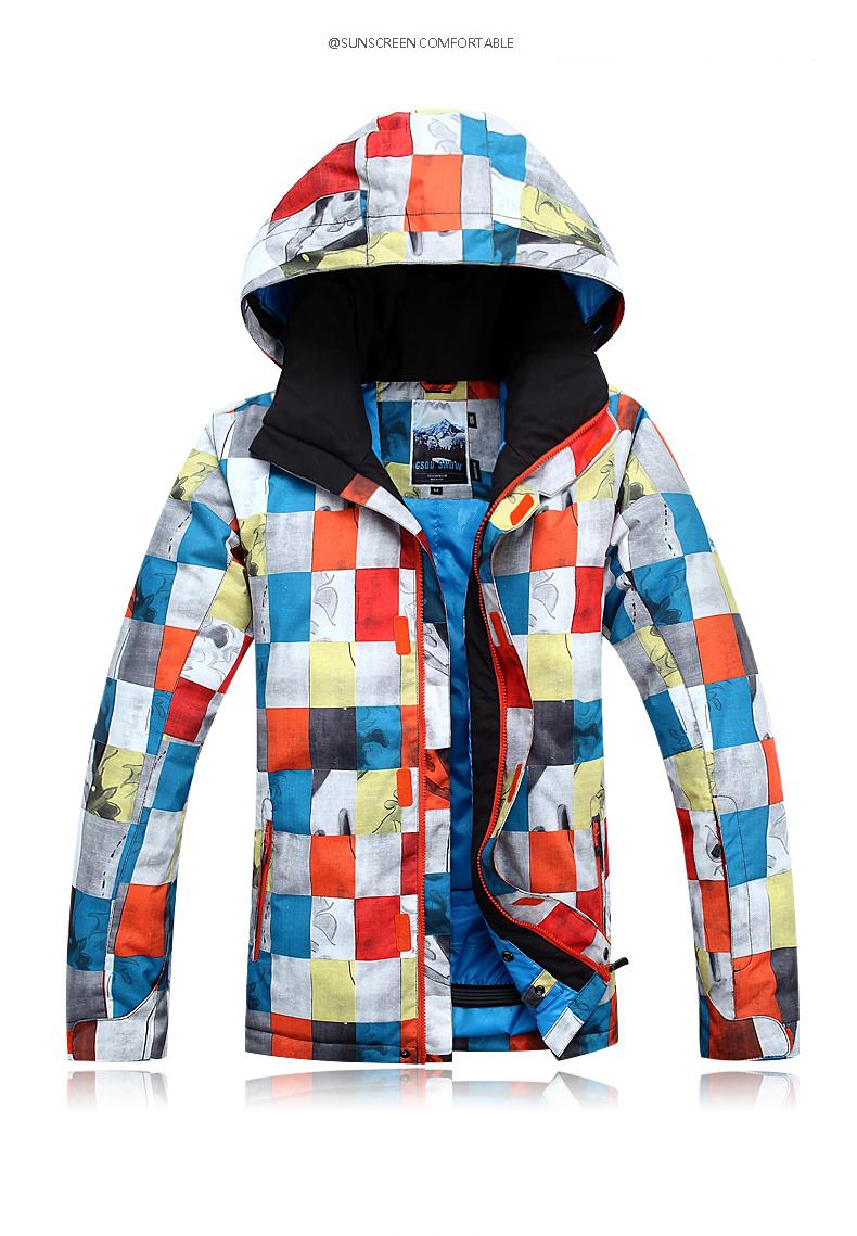 abd991cb081 Aliexpress.com   Buy Winter Gsou Snow ski suit snowboard jacket and ...