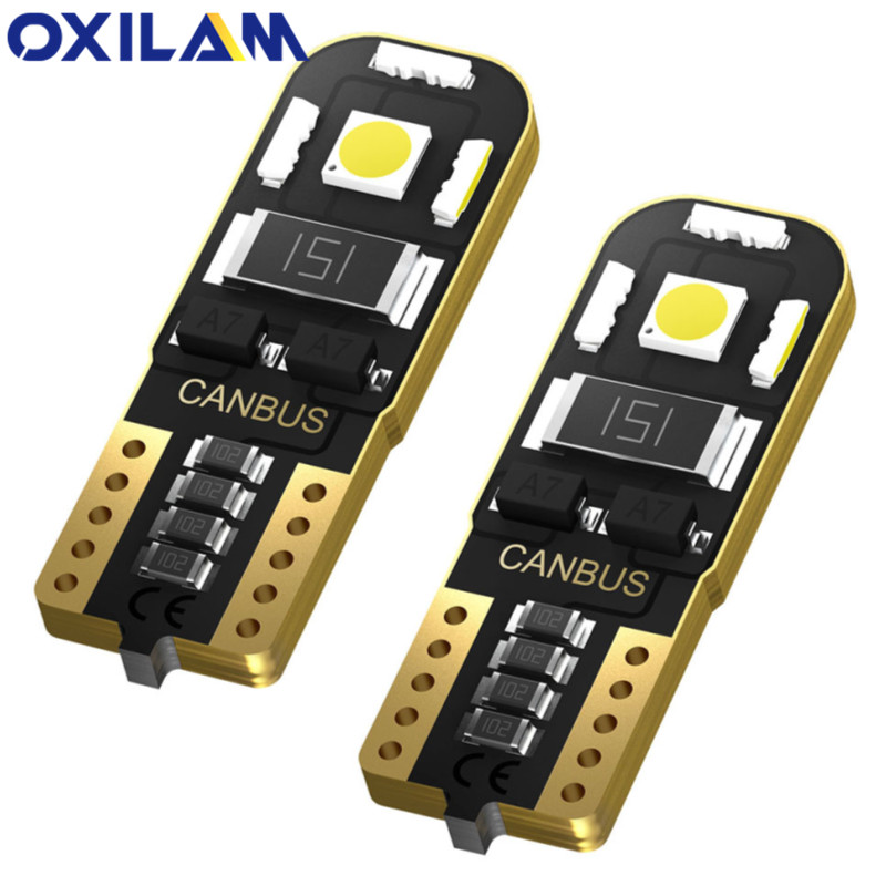 2pcs W5W T10 LED Canbus Error Free Car Interior Parking Light Bulb For <font><b>Honda</b></font> Type R <font><b>Civic</b></font> Accord CRV Hrv Jazz Typer <font><b>Accessories</b></font> image