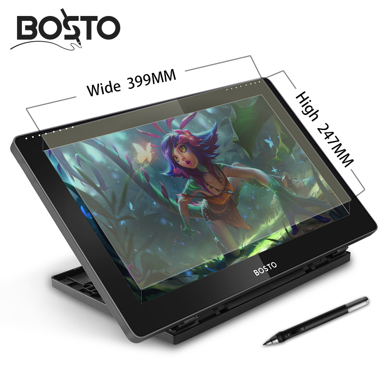 Bosto Ultra Clear Graphic Tablet Monitor Protective Film For 16HD,16HDK,16HDT,BT-16HD,BT-16HDK,BT-16HDT Art Drawing Monitor.