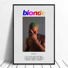 Frank Ocean - Blonde Album Pop Music cover Music Star Poster Canvas Prints Wall Art For Living Room Home Decor(China)
