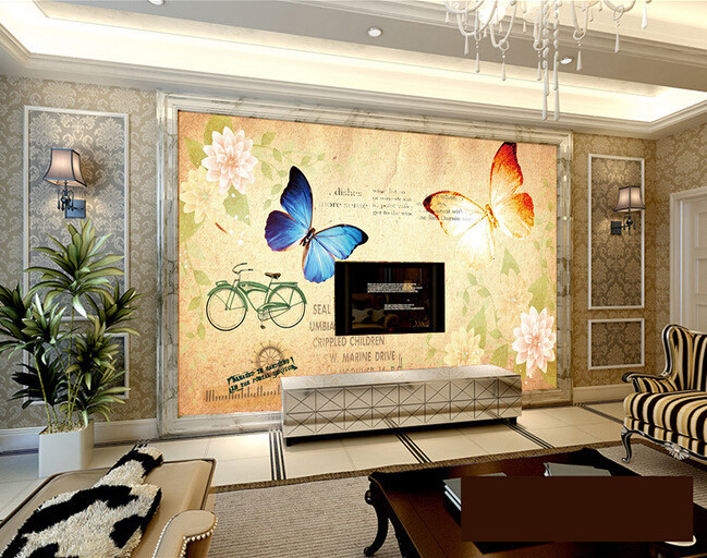 Compare prices on entertainment tv units online shopping for Custom mural cost