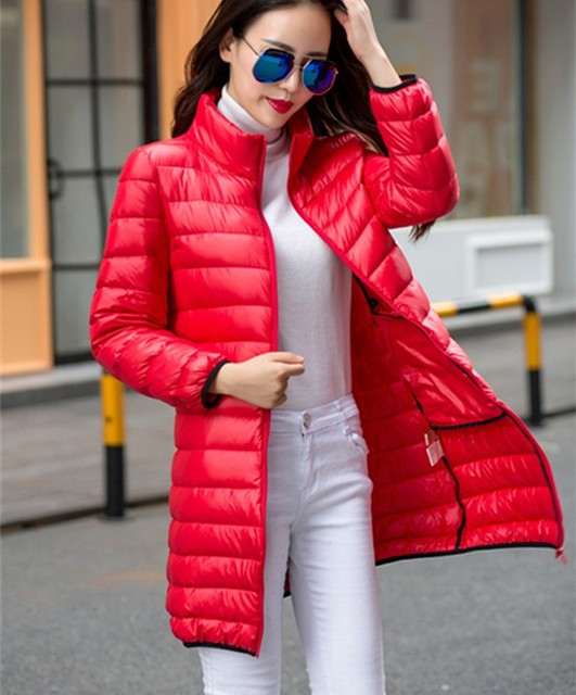 Online Shop Sale 2015 winter long down coat female thin slim plus ...