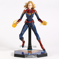Captain Marvel Carol Danvers 1/6th PVC Action Figure Collectible Model Toy