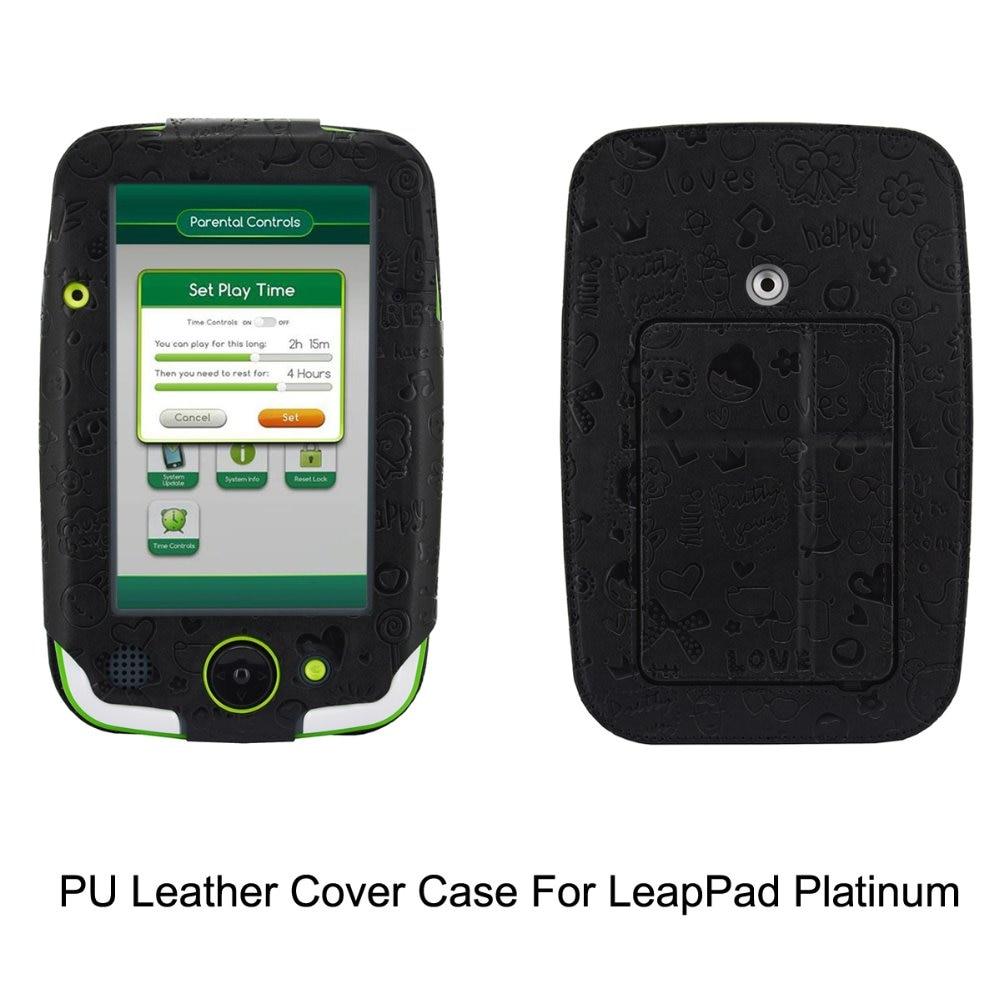 Plutonium Platinum: Leapfrog LeapPad Platinum Case PU Leather With Kickstand