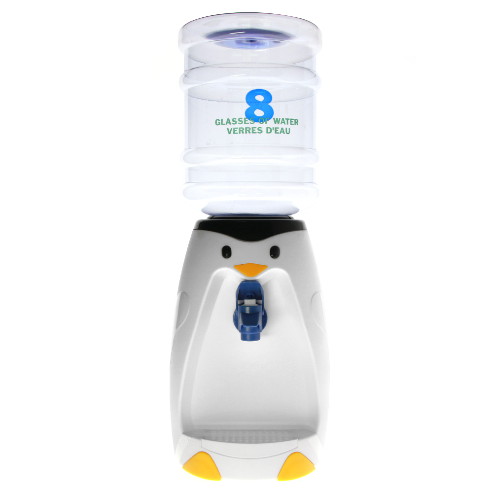 Mini Water Dispenser Us 17 99 2 5 Liters Penguin Mini Water Dispenser 8 Glasses Water Verres D Eau Aquatic Flightless Birds Home Desktop Decoration In Statues