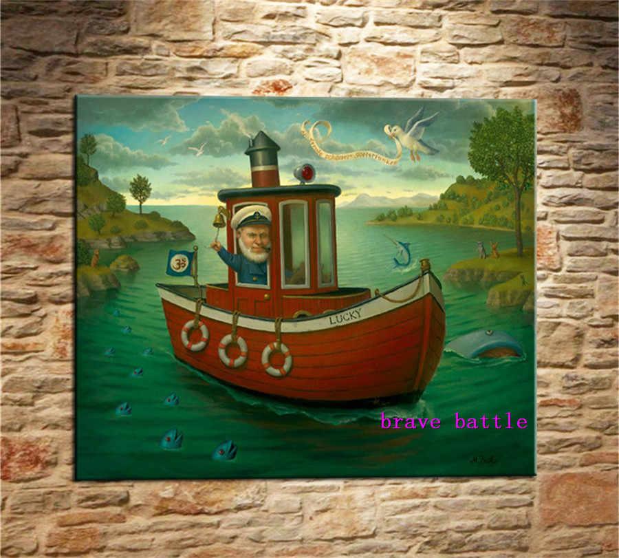 Mark Ryden Kekanak-kanakan Aneh Dark Dunia Kanvas Lukisan Ruang Tamu Kamar Tidur Dekorasi Rumah Modern Mural Art Minyak Lukisan #208