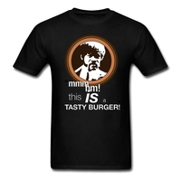 PULP FICTION Japanese T Shirt Men Gray Small Size Clothes Maker This Is A Tasty Burger