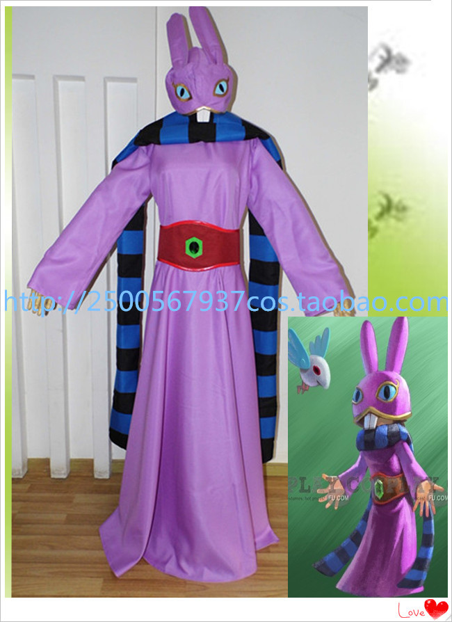 Free Shipping New Arrival Custom made Legend of Zelda: Triforce of the Gods Ravio Costume Cosplay