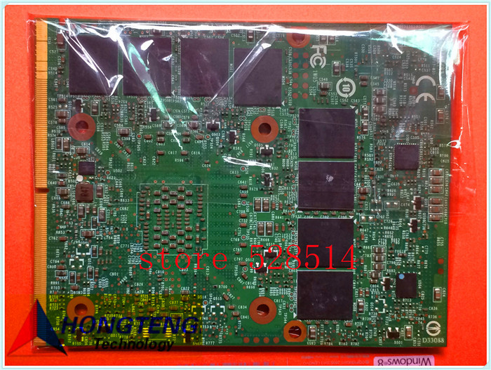 N13E-GS1-A1 GTX675M FOR MSI GT70 (MS-1762) MS-16F3 Graphics BOARD / Video Card BOARD MS-1W051 REV: 1.1 fully tested