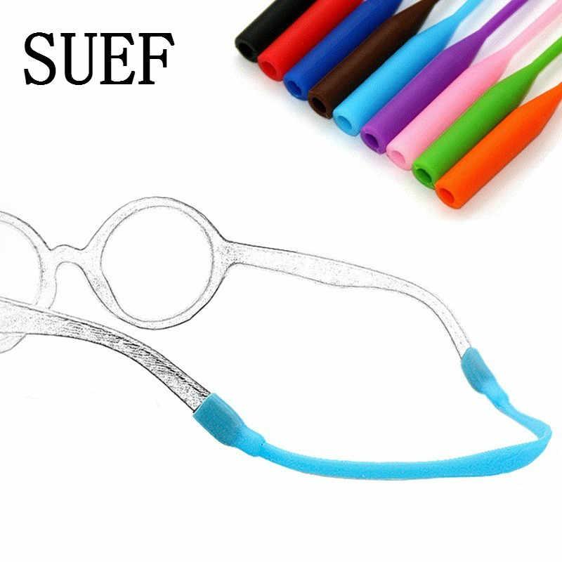 SUEF nouvellement 20cm Silicone lunettes chaîne sangle porte-câble cou lanière pour lecture lunettes gardien fête faveurs pour enfants @ 3