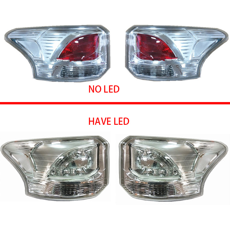 Rear light Tail Light for Mitsubishi 2013 2015 OUTLANDER Tail Light outlander tail lamp back lamp