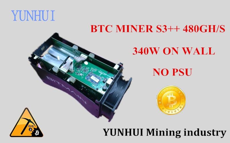 S3 ++ 500 г bitcoin шахтер