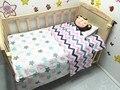 Promoção! 3 PCS bebê berço berço cama conjunto de roupa de cama de bebê jogo de cama, Incluem ( capa de edredão / folha / fronha )