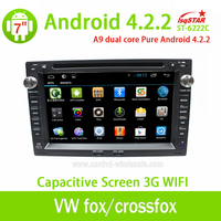 Wholesale Android 4 2 Car Dvd Player For VW Fox Crossfox Espacefox Spacecross With Gpsradio3G Wifisupport