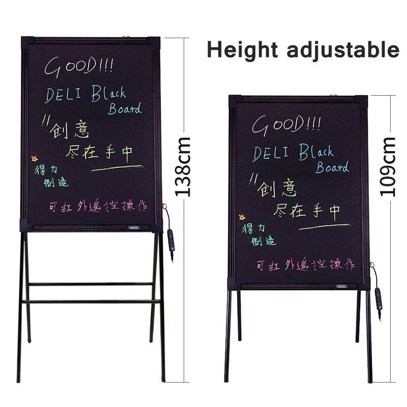 60x80 cm placa fluorescente eletronica com suporte 16 cores levou outdoor 010