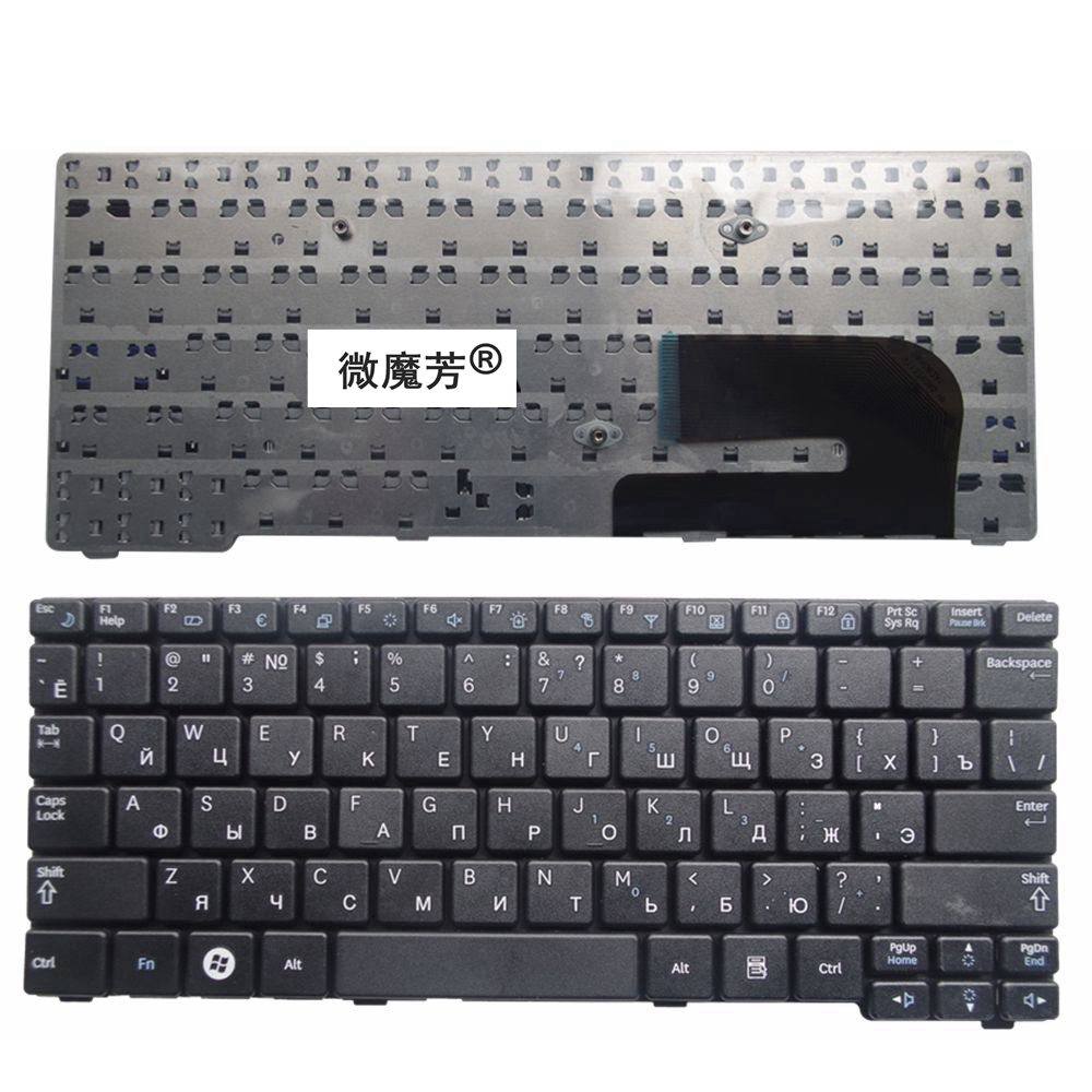 RU Black New FOR Samsung N148 NB20 NB30 NB30P N143 N145 N148P N150 N128 Laptop Keyboard Russian ru keypad for samsung np300e5a np305e5a np300v5a np305v5a np300e5c russian keyboard black free shipping