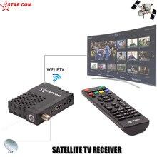 STARCOM ARABE IPTV Satellite TV Récepteur DVB-S2 MONDIAL UTILISER MINI TV BOX YouTube WiFi Inclus, USB Media Player