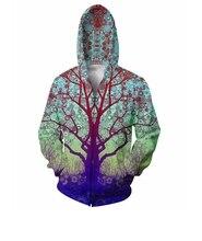 Neue Design Baum 3D Druck Hoodie Sweatshirts Mit Langen Ärmeln Männer/Frauen Unisex Sweatshirt Mode Für Männer Casual Sportler tragen