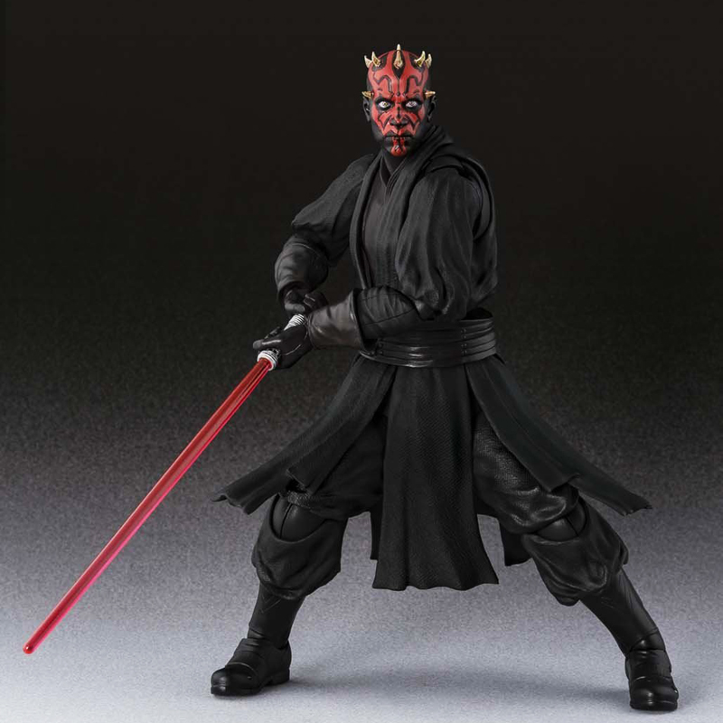 Free Shipping 6 Star Wars The Phantom Menace SHF Darth Maul Moveable Boxed PVC Action Figure Collection Model Doll Toys Gift playarts kai star wars darth maul pvc action figure collectible model toy 28cm free shipping kb0276