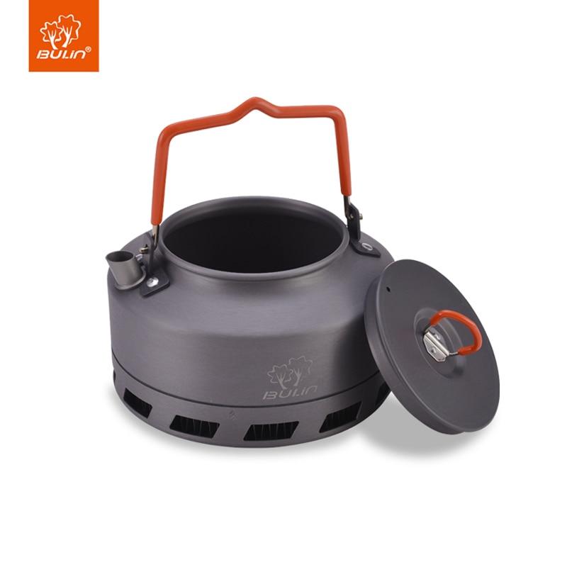 Outdoor Mini metal 1.1 Liters Kettle Camping Picnic Water Teapot camping hiking tableware 1.1L BL200 L1