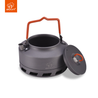 Outdoor Mini metal 1.1 Liters Kettle Camping Picnic Water Teapot camping hiking tableware 1.1L BL200 L1