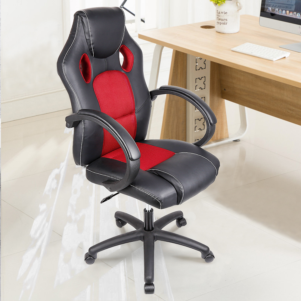 Top Quality Competer Gaming Chair Office Meeting Chair Rotating Swivel Chair Adjustable Lifting Desk Chair With Handrail HWC