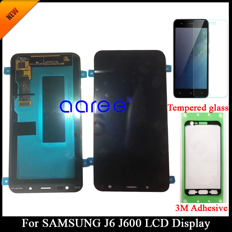 Tested Super AMOLED LCD Display For Samsung J6 J600F LCD For Samsung J6 J600F DS Display