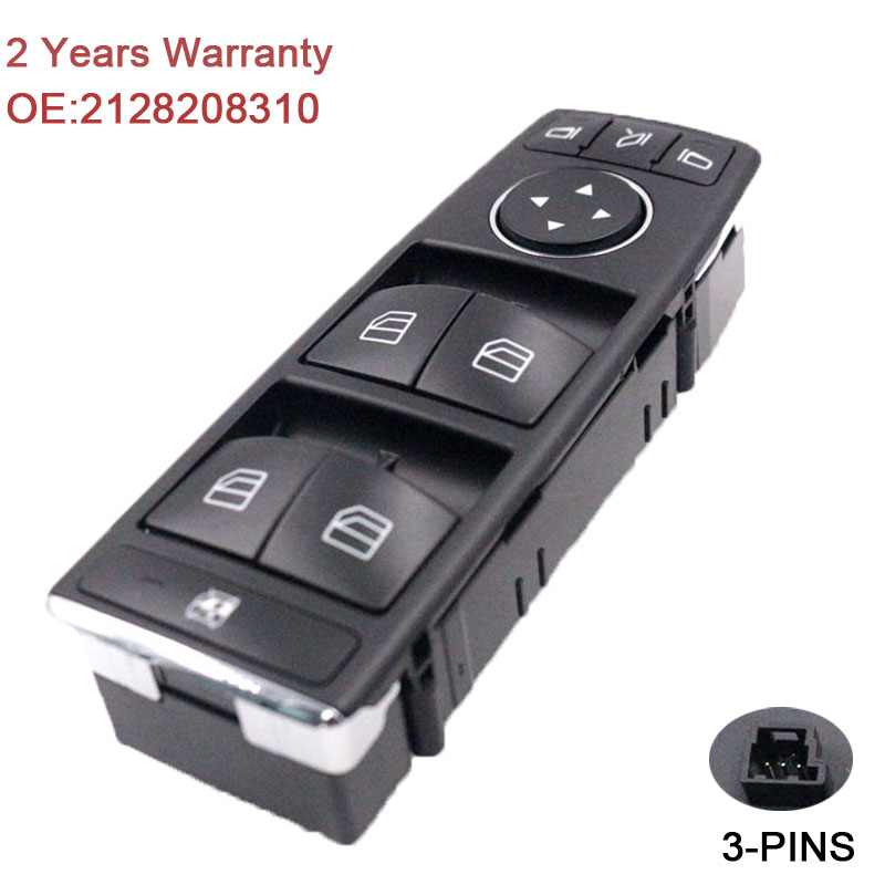 YAOPEI For Mercedes C-CLASS W204 E-CLASS W212 W207 Window Door Master Control Switch 2128208310 майка классическая printio adventure time x doctor who