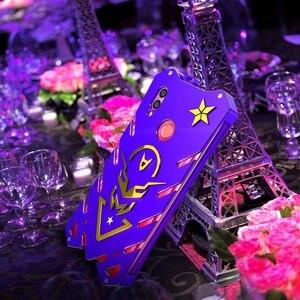 Image 1 - Винтовой чехол для Honor 10 lite мощный ударопрочный чехол для Honor 8x 8x max Zimon чехол для Honor 8c сверхмощный фиолетовый