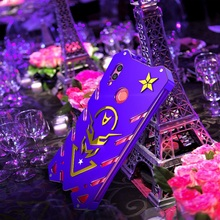 Étui à vis pour Honor 10 lite étui résistant aux chocs puissant pour Honor 8x 8x max Zimon étui pour Honor 8c résistant violet