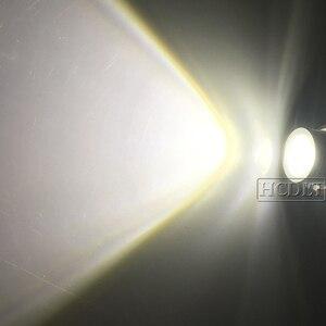 Image 4 - HCDLT שגיאת משלוח LED מלאך עיניים 60 W לבן צהוב אדום כחול מכונית אור עבור B M W E39 E53 E63 E83 x3 E87 X5 E60 120 W LED ערכת סמן