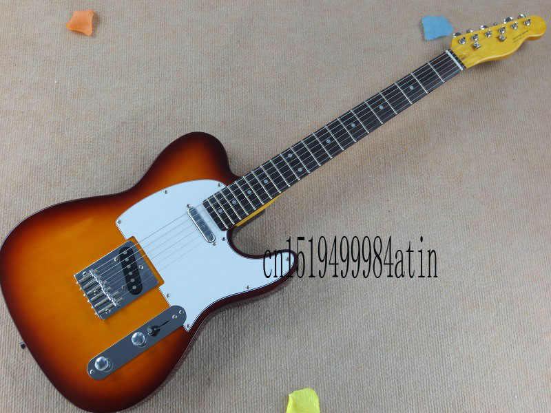 Бесплатная доставка гитара Tele Токай Goldstar ЗВУК Винтаж Вишневый красный Sunburst Telecaster электрогитары палисандр гриф