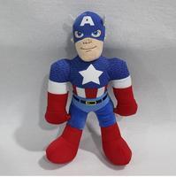 1 adet 28 cm Kaptan Amerika Dolması Peluş Oyuncaklar Avengers Kaptan amerika yumuşak bebek için iyi çocuk oyuncakları yeni oyuncaklar çocuk