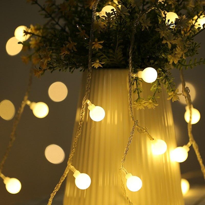 Party Backdrops Christmas Tree Diy Decorations Ball Led