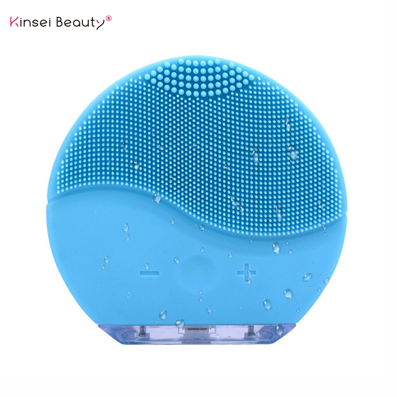 Waterproof Electric Silicone Facial Cleansing Brush Sonic Vibration Massage USB Charger Mini 2 Smart Ultrasonic Face Cleaner